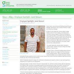 Green Coast Enterprises · Employee Spotlight: Jared Sessum