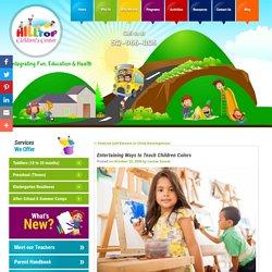 Entertaining Ways to Teach Children Colors