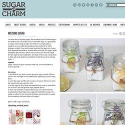 infusing sugar