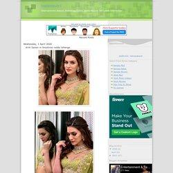 Entertainment 24/7: Kriti Sanon in Anushree reddy lehenga