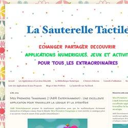 La Sauterelle Tactile: Mes Premiers Tangrams 2 (A&R Entertainment) : Une excellente application pour travailler la logique et la stratégie