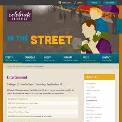 Entertainment - Celebrate Frederick