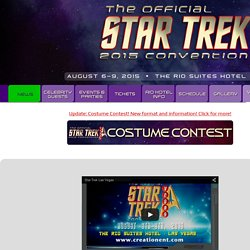 Creation Entertainment's Star Trek Official Convention Las Vegas