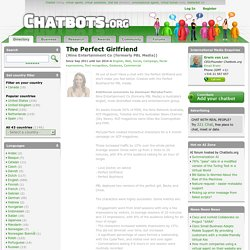 Chatbot The Perfect Girlfriend, Nine Entertainment Co (formerly PBL Media)