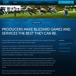 Blizzard Entertainment:Career Opportunities