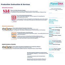 Planet DMA : Entertainment Industry Professionals