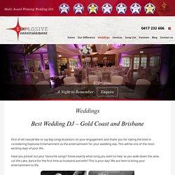 Wedding Entertainment & Receptions