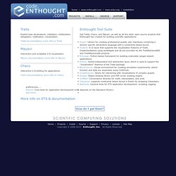 Enthought, Inc. :: Open Source Python Software