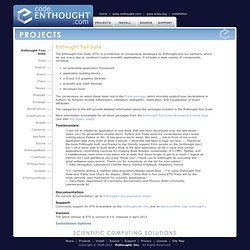 Tool Suite :: Enthought, Inc.