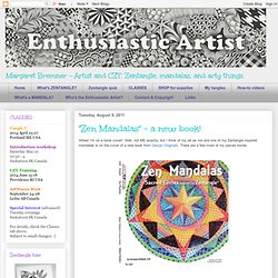 """Zen Mandalas"" - a new book!"
