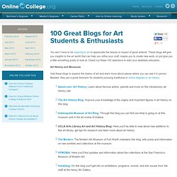 100 Great Blogs for Art Students & Enthusiasts