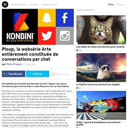 Ploup, la websérie Arte entièrement constituée de conversations par chat