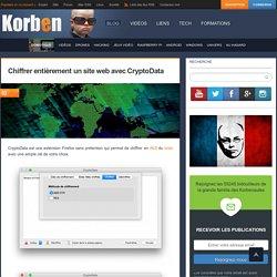 Chiffrer entièrement un site web avec CryptoData