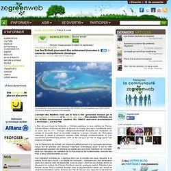 Les îles Kiribati pourraient être entièrement évacuées à cause du réchauffement climatique