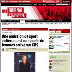 Une émission de sport entièrement composée de femmes arrive sur CBS