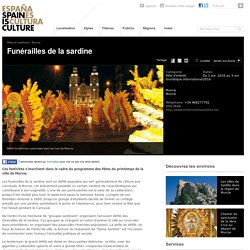 Entierro de la Sardina, fêtes, célébrations en Espagne.