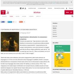 L'entimema di Aristotele: un encomio didattico