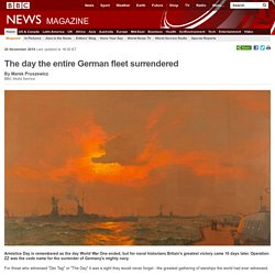 The day the entire German fleet surrendered