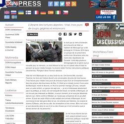 L'Ukraine des tortures abjectes : Vitali, trois jours de coups, gégènes et entonnoirs