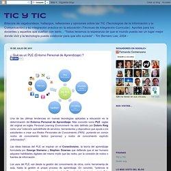 ¿ Qué es un PLE (Entorno Personal de Aprendizaje) ?
