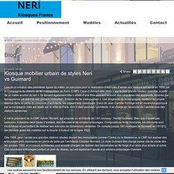 Les entourages metro Paris d'Hector Guimard vs Neri