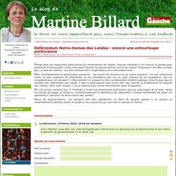 Référendum Notre-Dames des Landes : encore une entourloupe politicienne