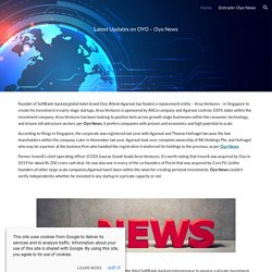 Entrackr-Oyo News