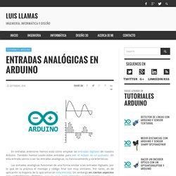 Entradas analógicas en Arduino