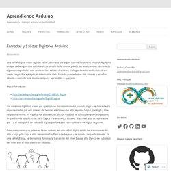 Entradas y Salidas Digitales Arduino