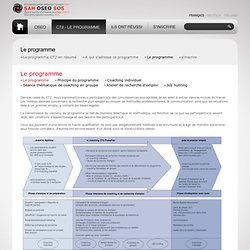 Oeuvre suisse d'entraide ouvrière - OSEO - Le programme