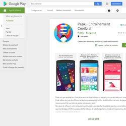 Peak - Gehirntraining – Android-Apps auf Google Play