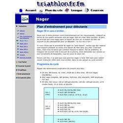 Plan d'entraînement pour débutants - triathlon.fr.fm