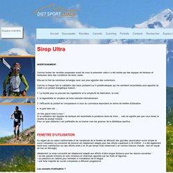 - coaching : entrainement sportif et diététique
