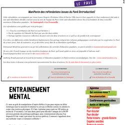 Entrainement mental / Le Pavé