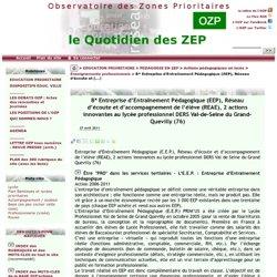 EEP : Réseau d'écoute et(...) OZP