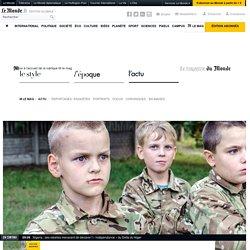 Au camp d'entraînement des petits soldats d'Ukraine