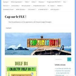 Nouvelle rubrique pour les B1 : Entraînements thématiques du DELF!