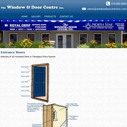 Leading Manufacturer & Supplier of Entrance doors in Ontario