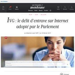 IVG : le délit d'entrave sur Internet adopté par le Parlement ...