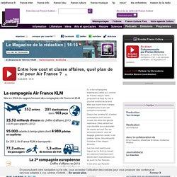 Entre low cost et classe affaires, quel plan de vol pour Air France