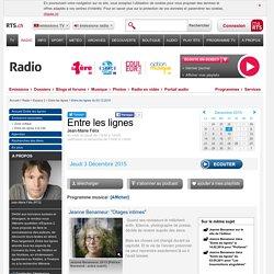 [radio] Entre les lignes (Suisse)