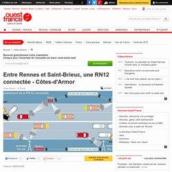 Entre Rennes et Saint-Brieuc, une RN12 connectée - Côtes-d'Armor