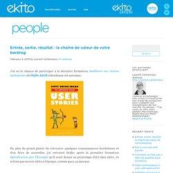 Entrée, sortie, résultat : la chaîne de valeur de votre backlogekito people
