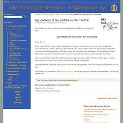 EM2.1 EntréesSorties sur le marché
