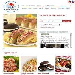 Entrees - Lobster Rolls & Whoopie Pies