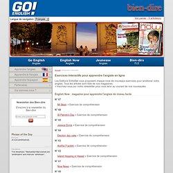 Editions Entrefilet : exercices gratuits pour apprendre l'anglais en ligne