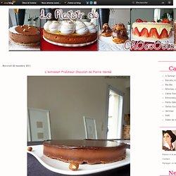 L'entremet Fraîcheur Chocolat de Pierre Hermé - Le Plaisir du ChOcoOolat... !