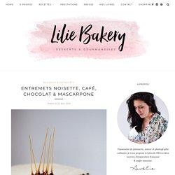 Entremets Noisette, Café, Chocolat & Mascarpone
