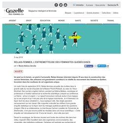 Relais-femmes, l'entremetteuse des féministes québécoises