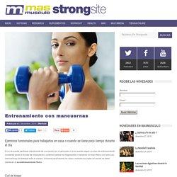 Entrenamiento con mancuernas — MASmusculo STRONGsite - ¡Ponte en forma!